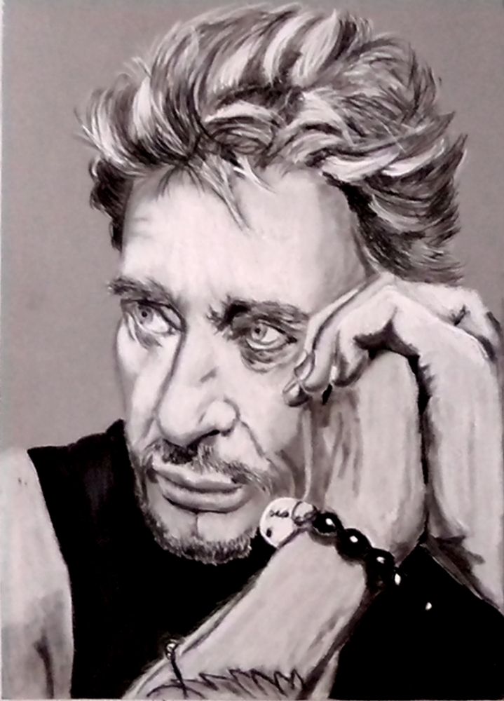 Johnny Hallyday by fredo